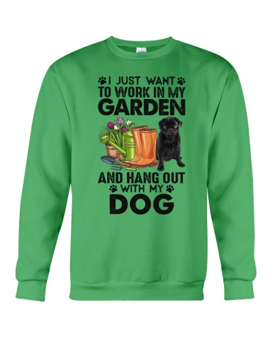 I Want To Work In My Garden With My Dog