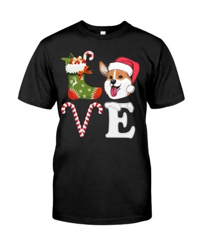 Corgi Love Christmas Elements