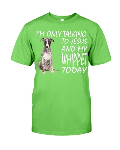 Whippet and Jesus