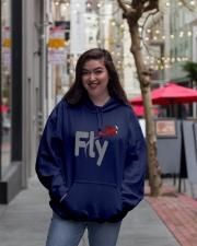 Fly Amazing T-shirt Hooded Sweatshirt lifestyle-unisex-hoodie-front-2