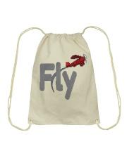 Fly Amazing T-shirt Drawstring Bag thumbnail