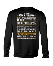 LENGENDS ARE BORN IN FEBRUARY Crewneck Sweatshirt thumbnail