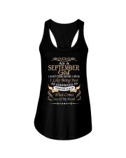 As A September Girl Ladies Flowy Tank thumbnail