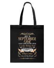 As A September Girl Tote Bag thumbnail