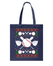 Baseball Ugly Christmas Sweater Tote Bag thumbnail