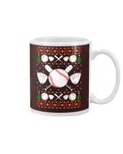 Baseball Ugly Christmas Sweater Mug thumbnail