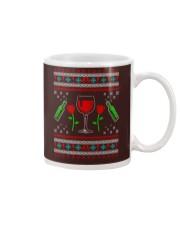 Wine Ugly Christmas Sweater Mug thumbnail