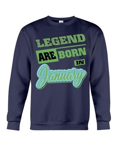 Legen born in January Birthday Gift