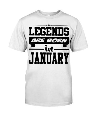 Born In January Shirt