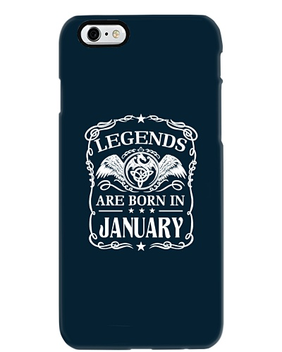 Legends are born in January