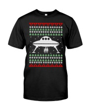 UFO Ugly Christmas Sweater Gift Premium Fit Mens Tee thumbnail