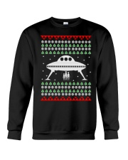 UFO Ugly Christmas Sweater Gift Crewneck Sweatshirt front