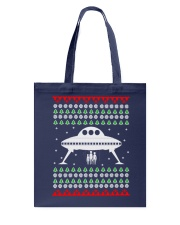 UFO Ugly Christmas Sweater Gift Tote Bag thumbnail