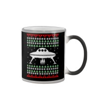 UFO Ugly Christmas Sweater Gift Color Changing Mug thumbnail