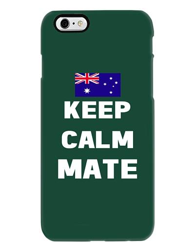 Keep Calm Mate Australian Flag T-Shirt