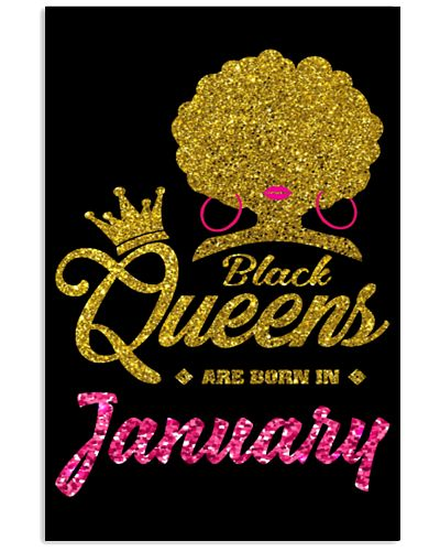 Queens Are Born In January Tee Shirt