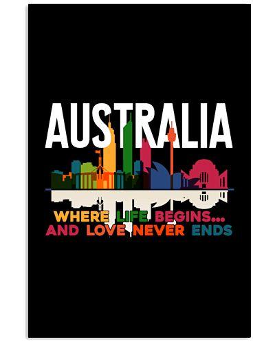 AUSTRALIA WHERE LIFE BEGINS SHIRT