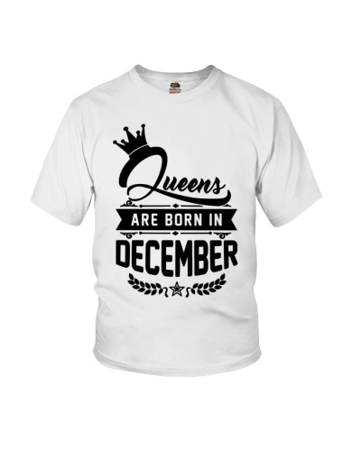 Queens are born in December - birthday - crown