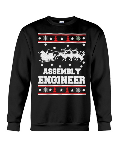 Assembly Engineer Ugly christmas sweater
