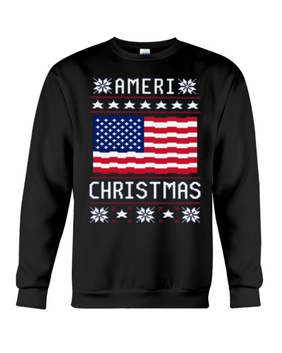 AMERICA Ugly Christmas Sweater Gift