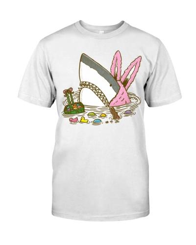 The Easter Shark Funny Easter Shirt