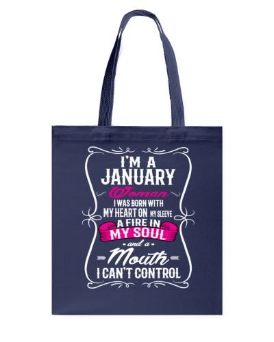 I'm A January Woman Shirt