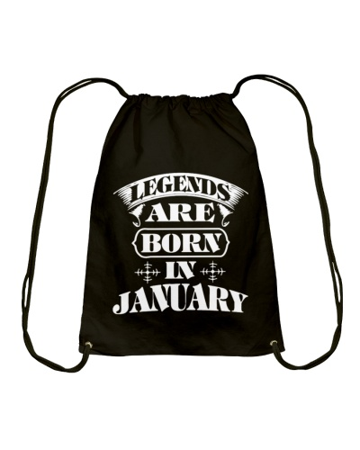 Legend Are Born In January Hoodies