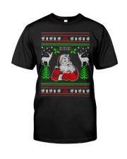 Santa Claus Ugly Christmas Sweater Premium Fit Mens Tee thumbnail