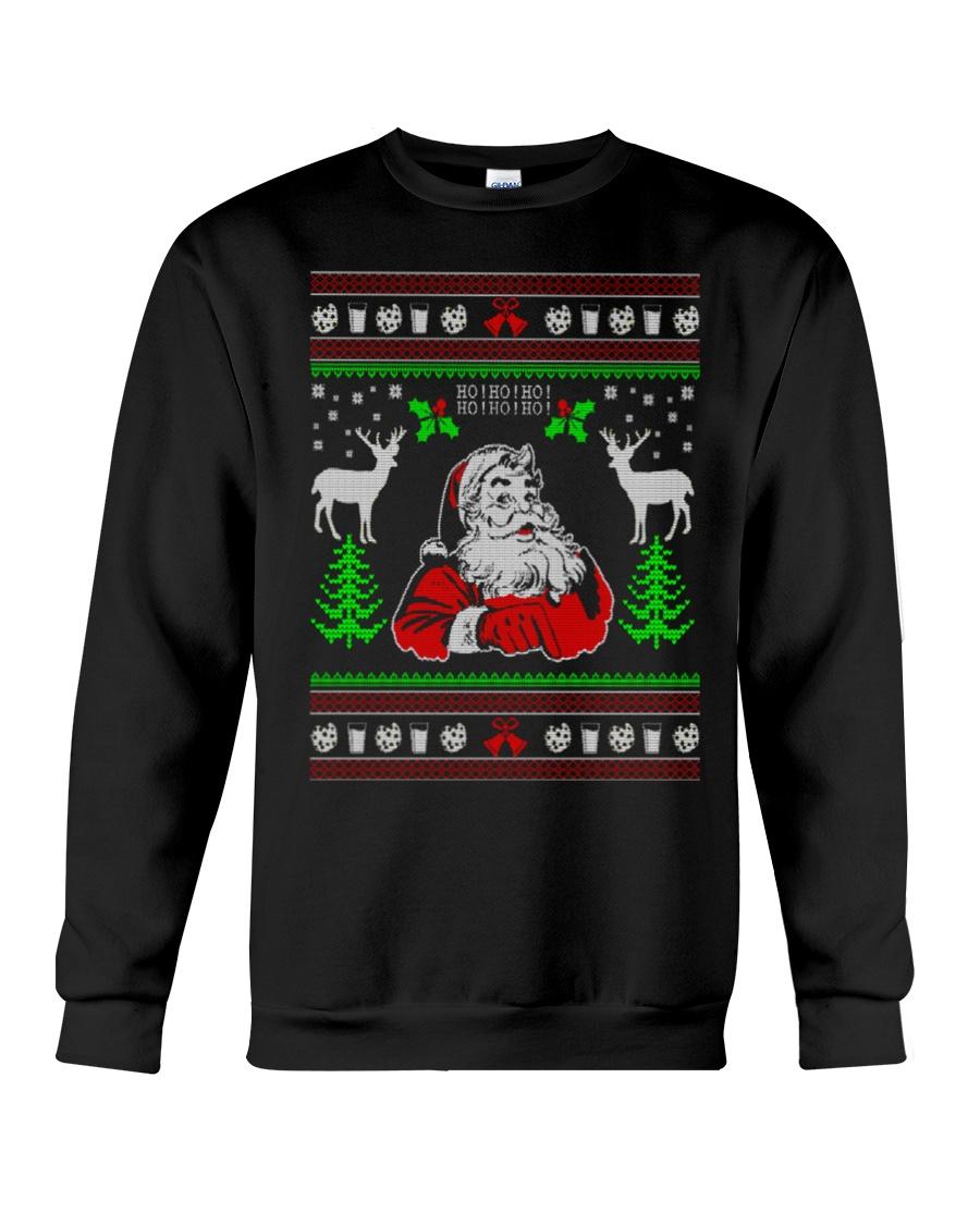 Santa Claus Ugly Christmas Sweater Crewneck Sweatshirt