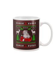 Santa Claus Ugly Christmas Sweater Mug thumbnail