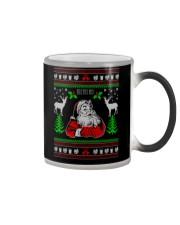 Santa Claus Ugly Christmas Sweater Color Changing Mug thumbnail