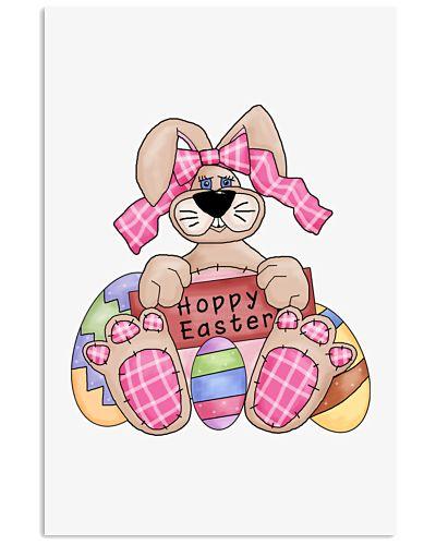 Happy Easter GIrly Bunny Shirt