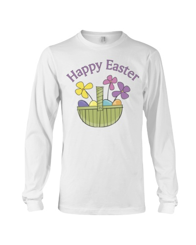 Happy Easter Spring Basket Shirt