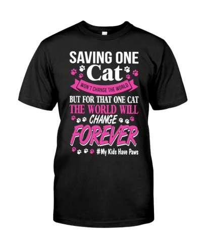 Saving Cats Shirt