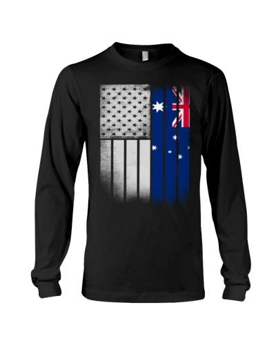 Australian American Flag