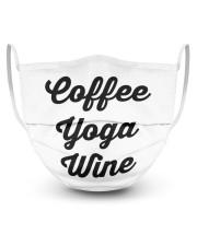 Coffee Yoga Wine Masks tile