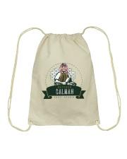 butcher selman saudi Drawstring Bag front