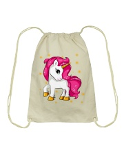 PURPULE UNICORN CUTE SHIRT 2018 Drawstring Bag thumbnail