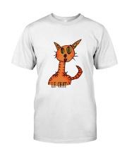 Le chat orange Classic T-Shirt front