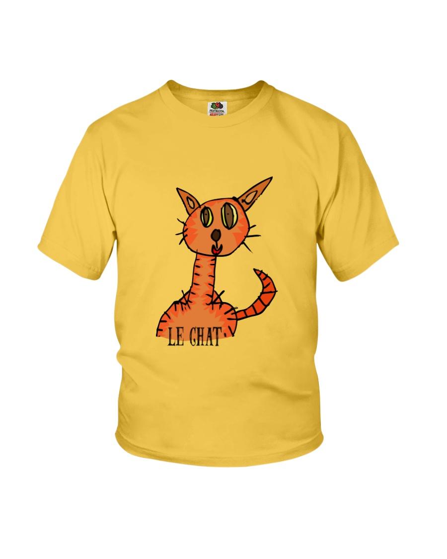 Le chat orange Youth T-Shirt
