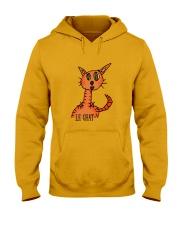 Le chat orange Hooded Sweatshirt thumbnail