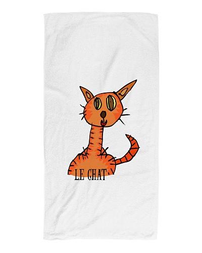 Le chat orange