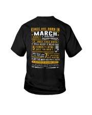 Kings Are Born In March Youth T-Shirt thumbnail