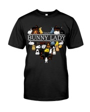 Crazy Bunny Lady Classic T-Shirt tile