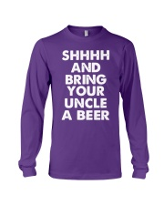 Shhhh and bring your uncle a beer Long Sleeve Tee thumbnail