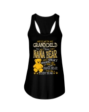 Mess with my grandchild and you make Nana bear Ladies Flowy Tank tile