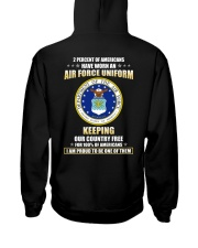 2 Percent of Americans Hooded Sweatshirt thumbnail