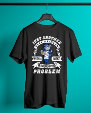 Just another beer drinker with a meat rubbing Classic T-Shirt lifestyle-mens-crewneck-front-3
