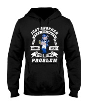 Just another beer drinker with a meat rubbing Hooded Sweatshirt thumbnail