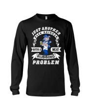 Just another beer drinker with a meat rubbing Long Sleeve Tee thumbnail